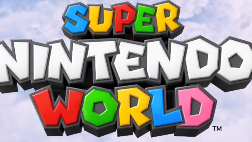 Aquí los primeros detalles oficiales sobre Super Nintendo World