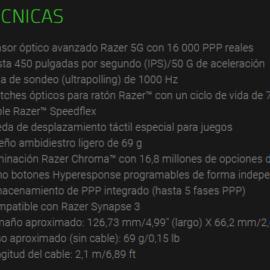Ratón Razer Viper – Análisis