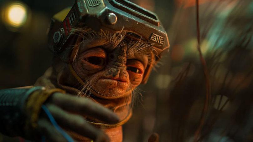 Ve aquí la escena extendida de Babu Frik en The Rise of Skywalker