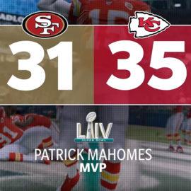 EA: Simulación de Super Bowl LIV predice victoria de Kansas