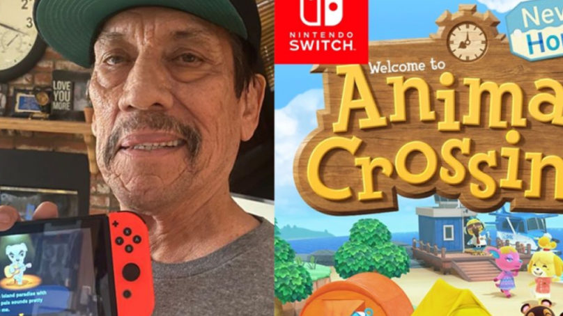 Danny Trejo presumirá su isla de Animal Crossing: New Horizons