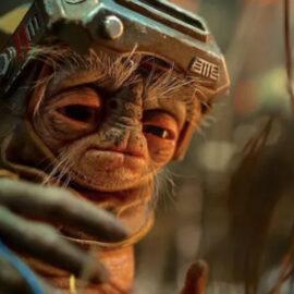Star Wars: Artista revela en qué se inspiró para crear a Babu Frik