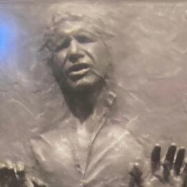 Alguien ya creó una skin de Han Solo congelado en carbonita para su Xbox Series X