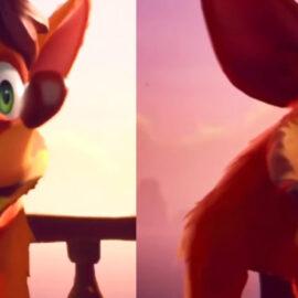 Comparativa muestra cómo luce Crash 4 en Switch y PS4 Pro